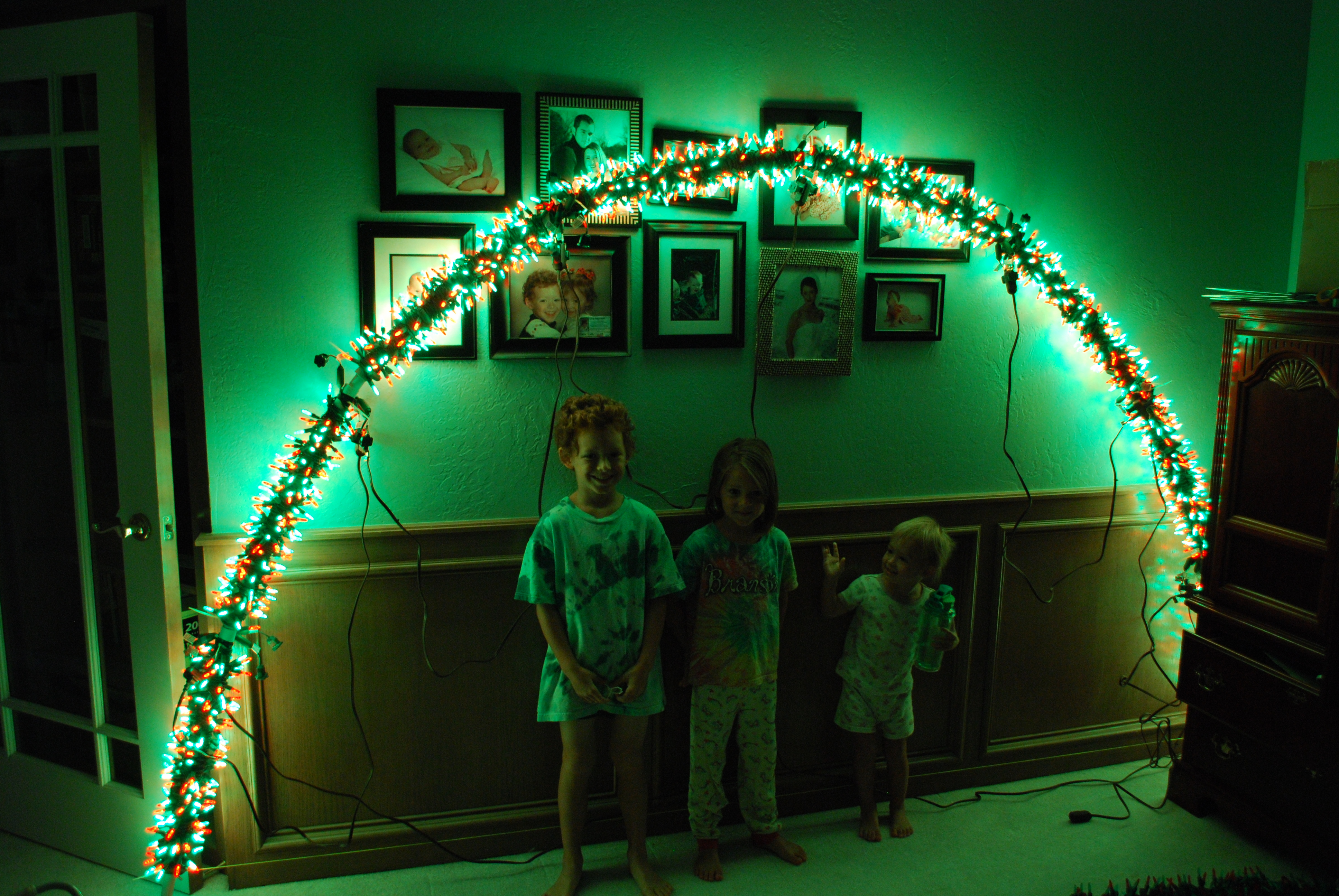 How-To Christmas Light Arches | Carney Christmas